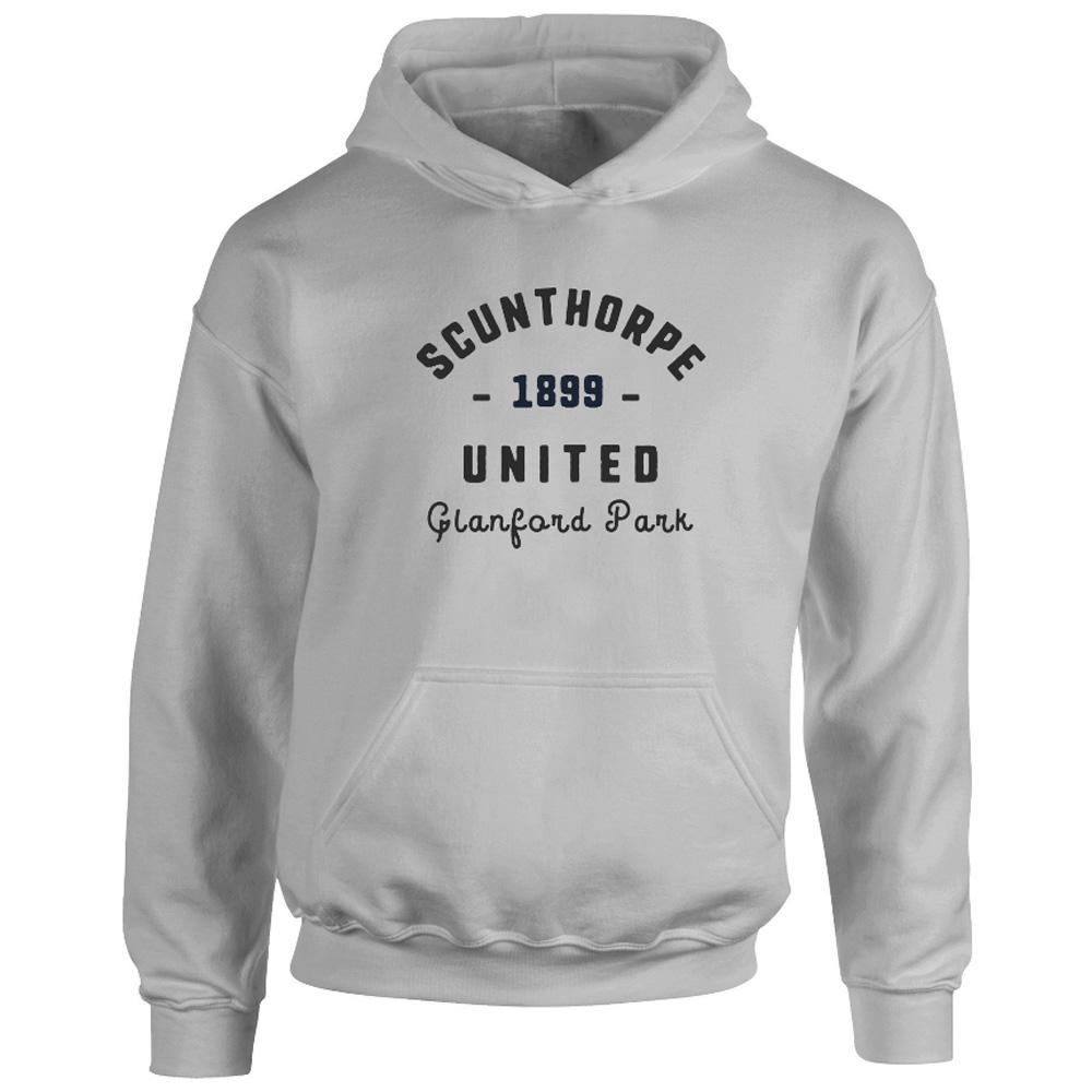 Scunthorpe United FC Stadium Vintage Hoodie