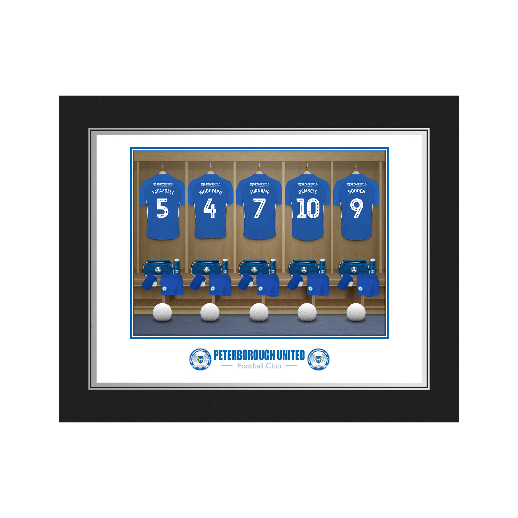 Peterborough United FC Dressing Room Photo Folder