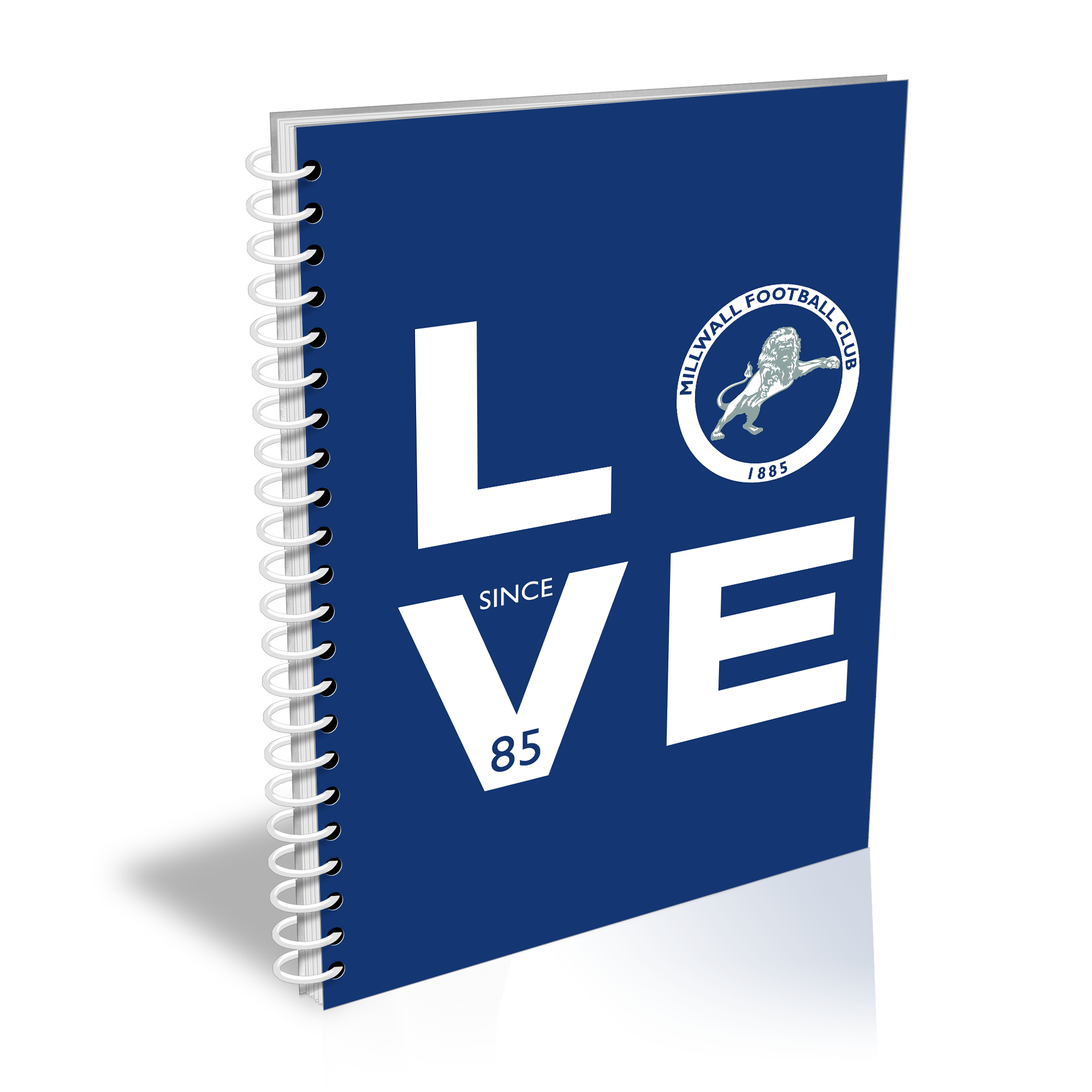 Millwall Love Notebook