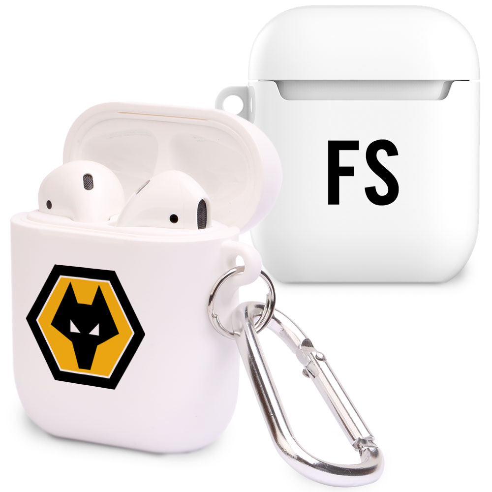 Wolverhampton Wanderers FC Initials Airpod Case