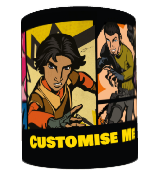 Star Wars Rebels Comic Print Mug