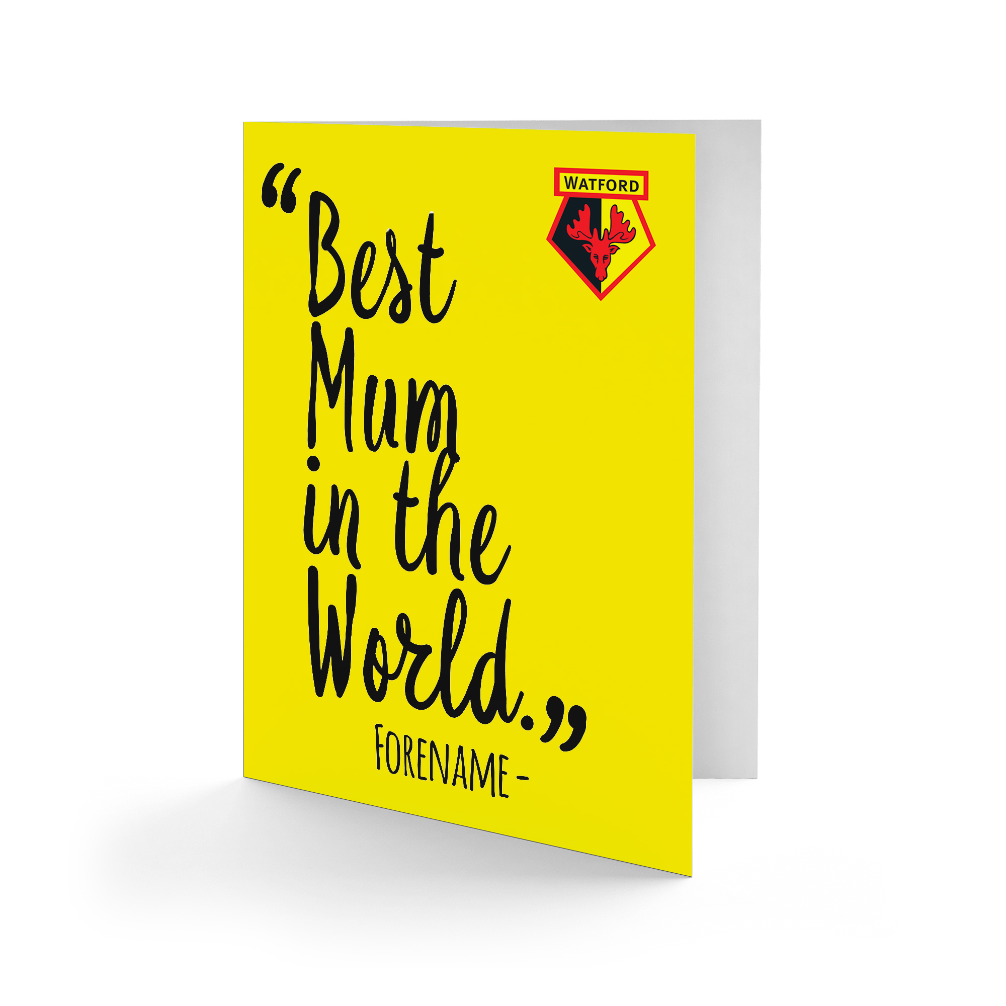 Watford FC Best Mum In The World Card