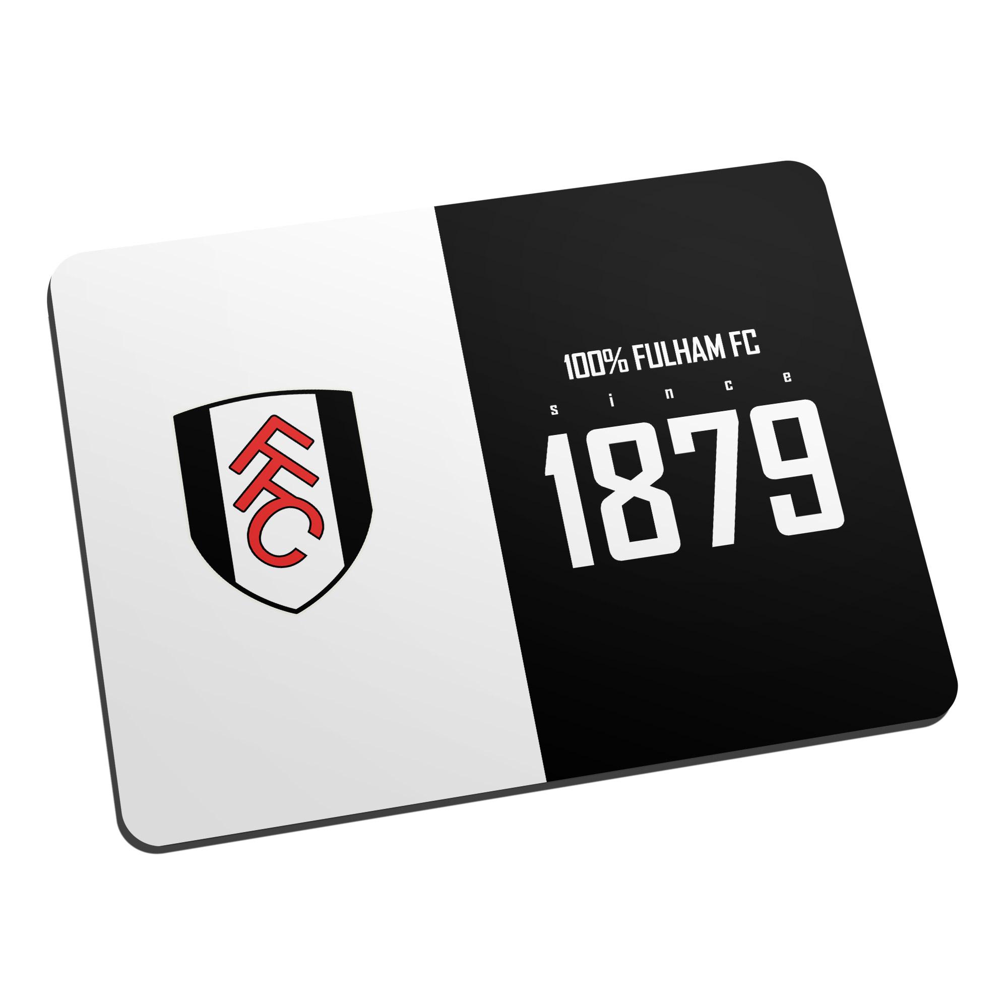 Fulham FC 100 Percent Mouse Mat
