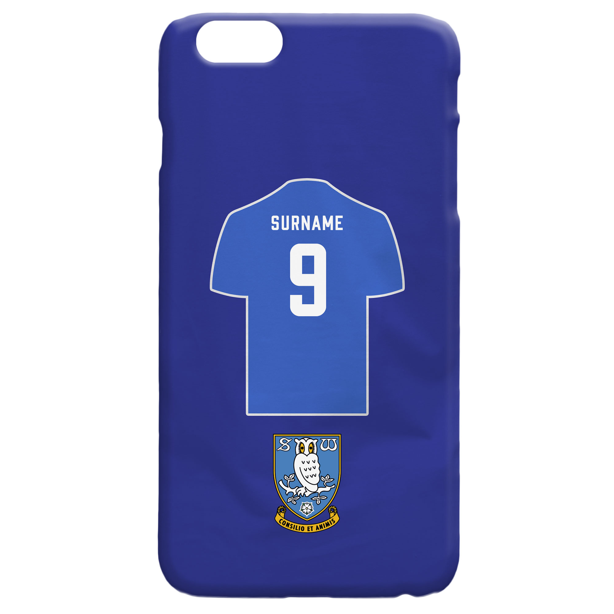 Sheffield Wednesday FC Shirt Hard Back Phone Case