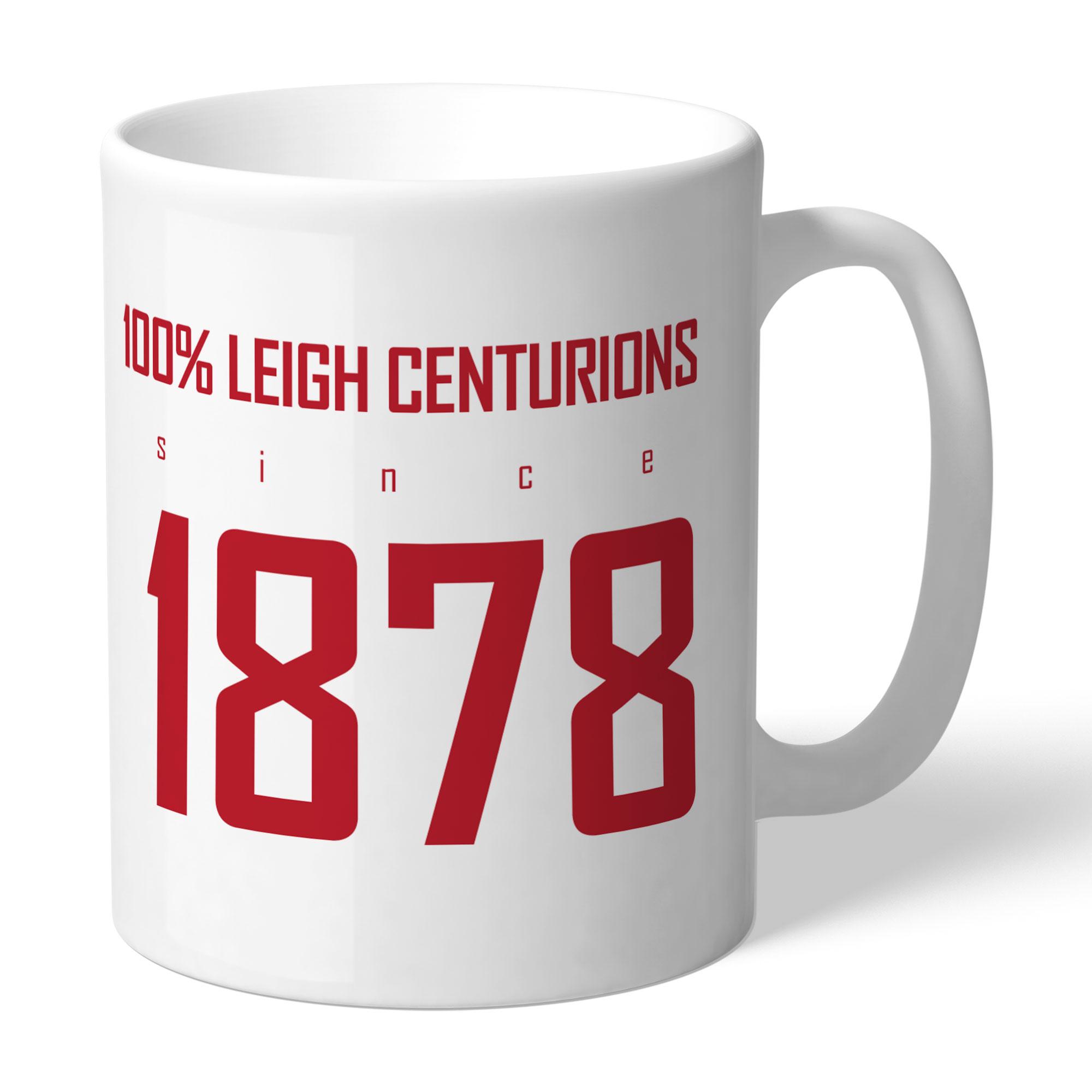 Leigh Centurions 100 Percent Mug