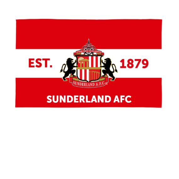 Sunderland Supporters 5ft x 3ft Banner