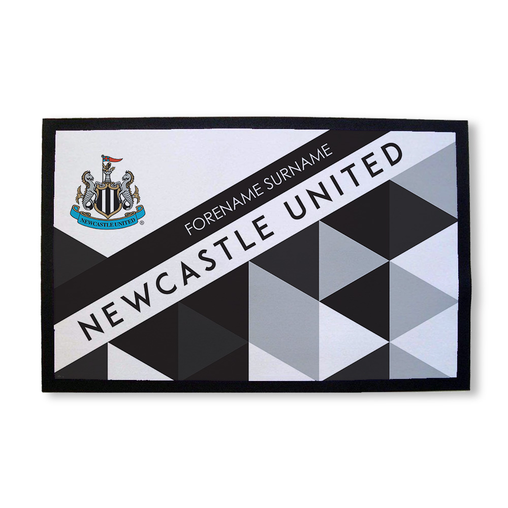 Newcastle United FC Patterned Door Mat