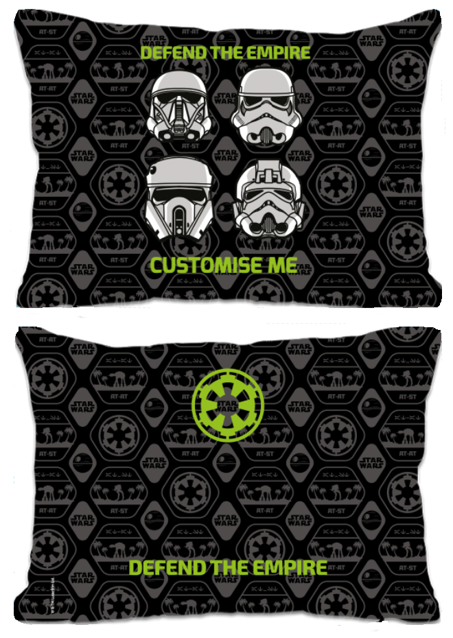"Star Wars Rogue One ""Defend The Empire"" Extra Large Fibre Cushion"