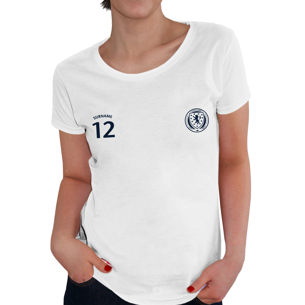 Scotland Ladies Sports T-Shirt