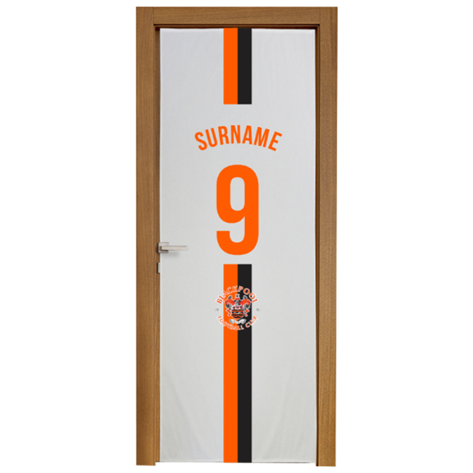 Blackpool Shirt Door Banner