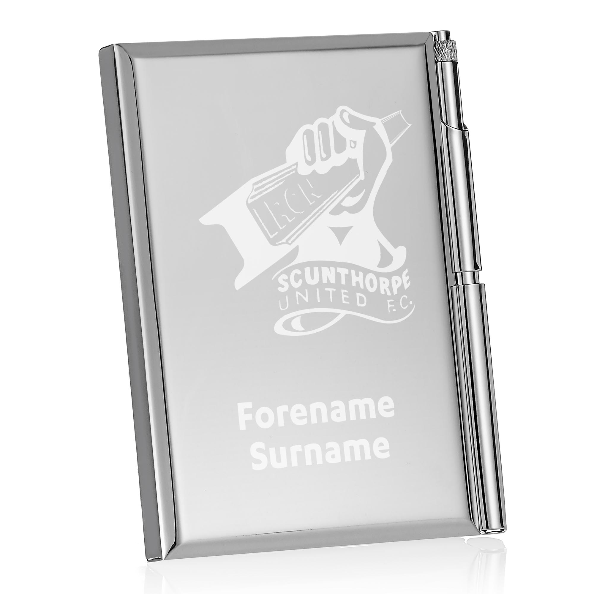 Scunthorpe United FC Crest Address Book