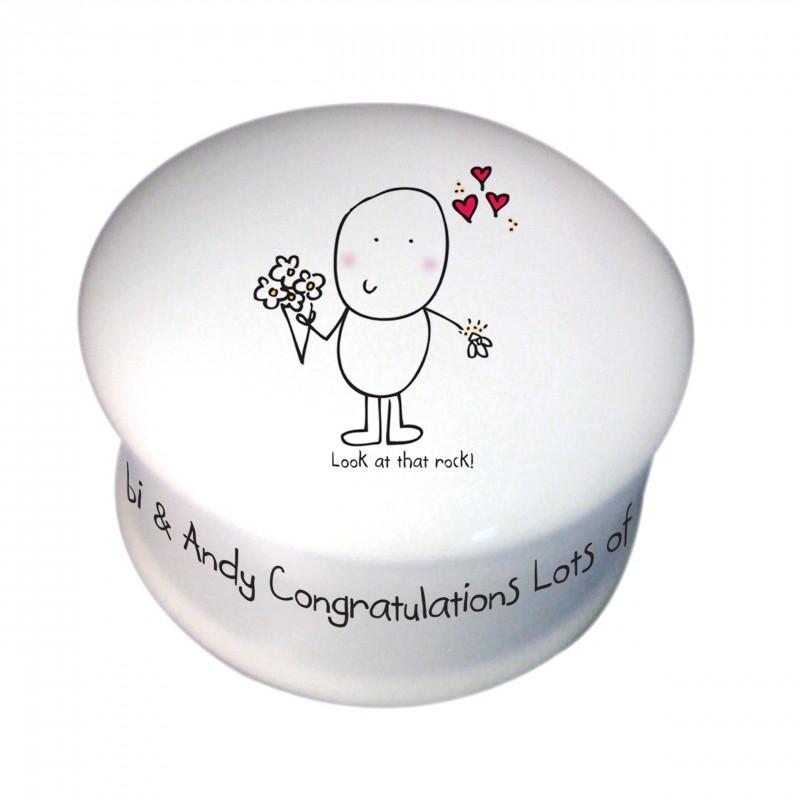 Chilli & Bubble's Engagement Trinket Box