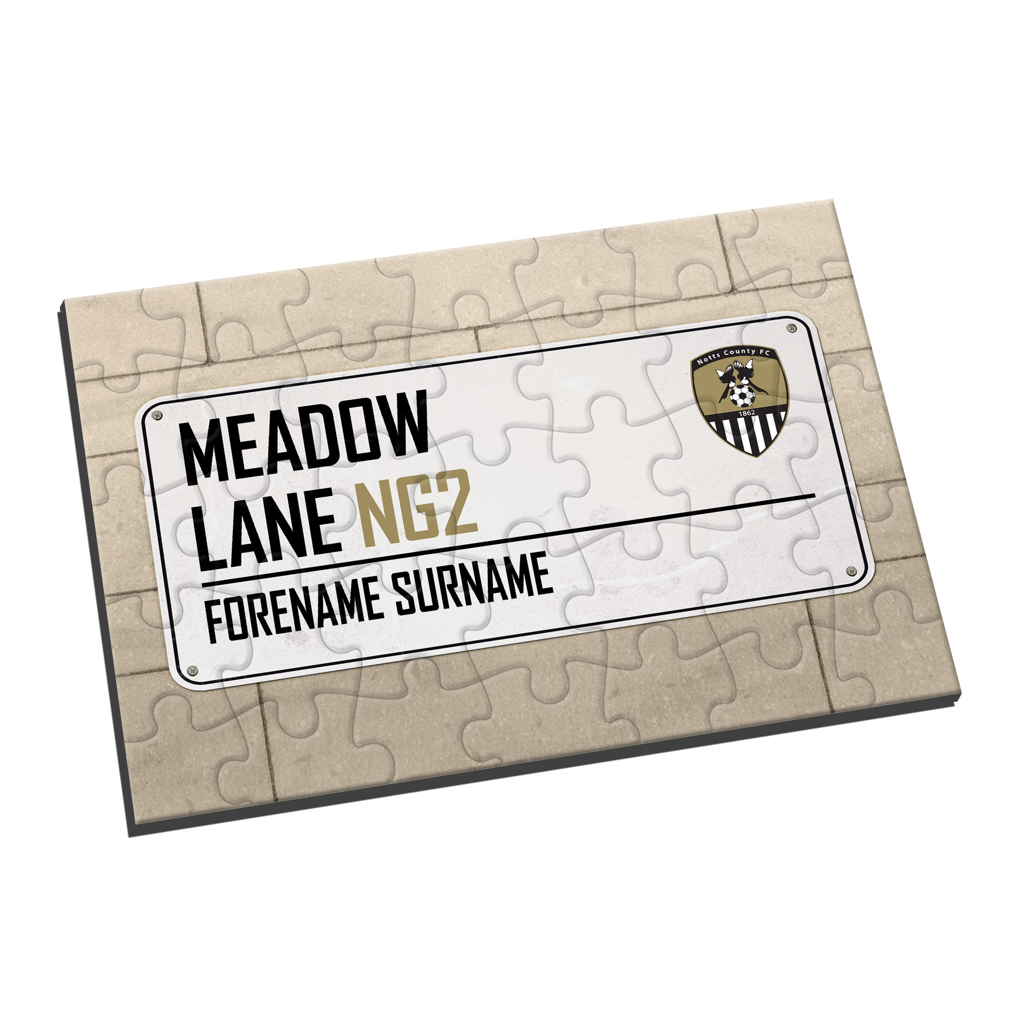 Notts County FC Street Sign Jigsaw