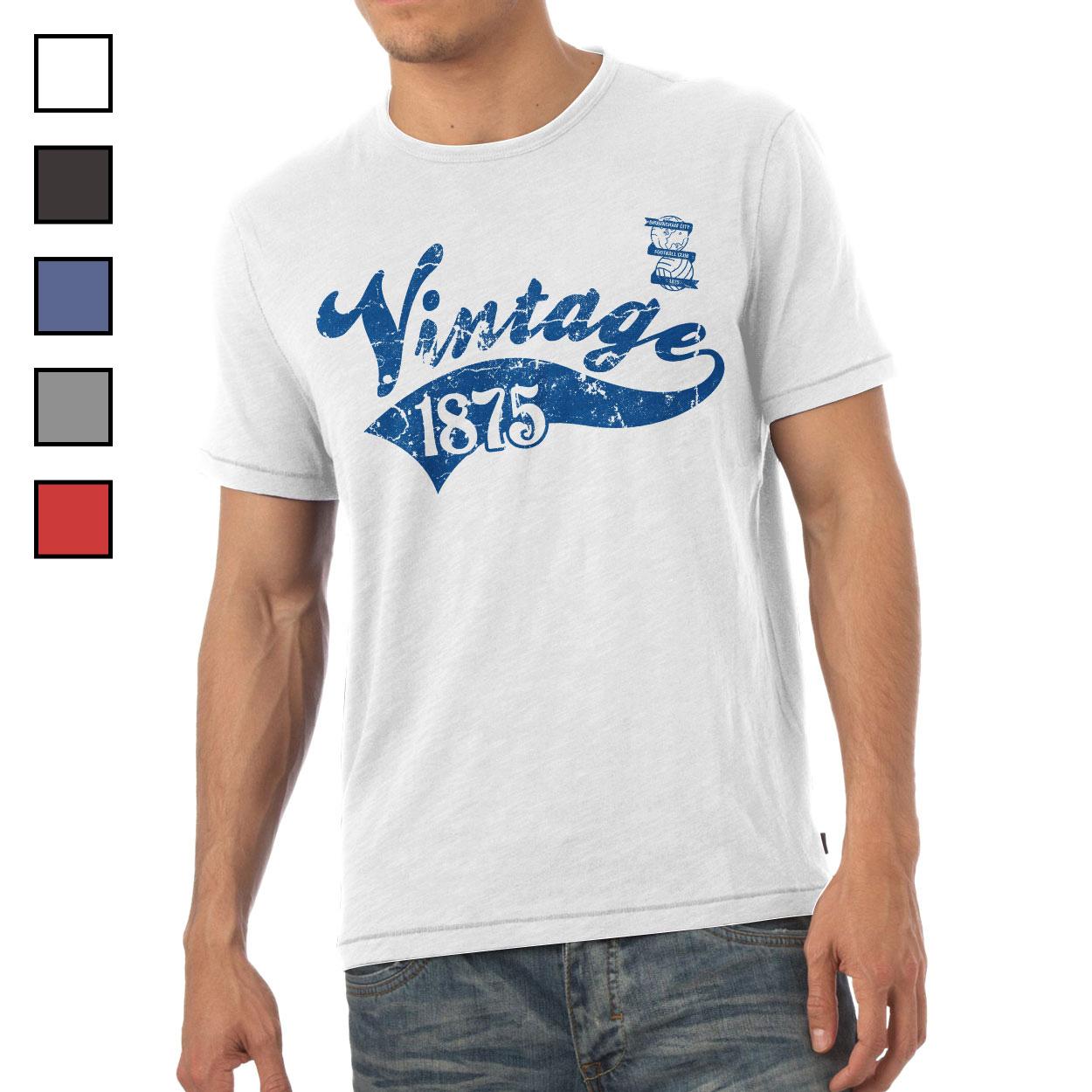 Birmingham City FC Mens Vintage T-Shirt