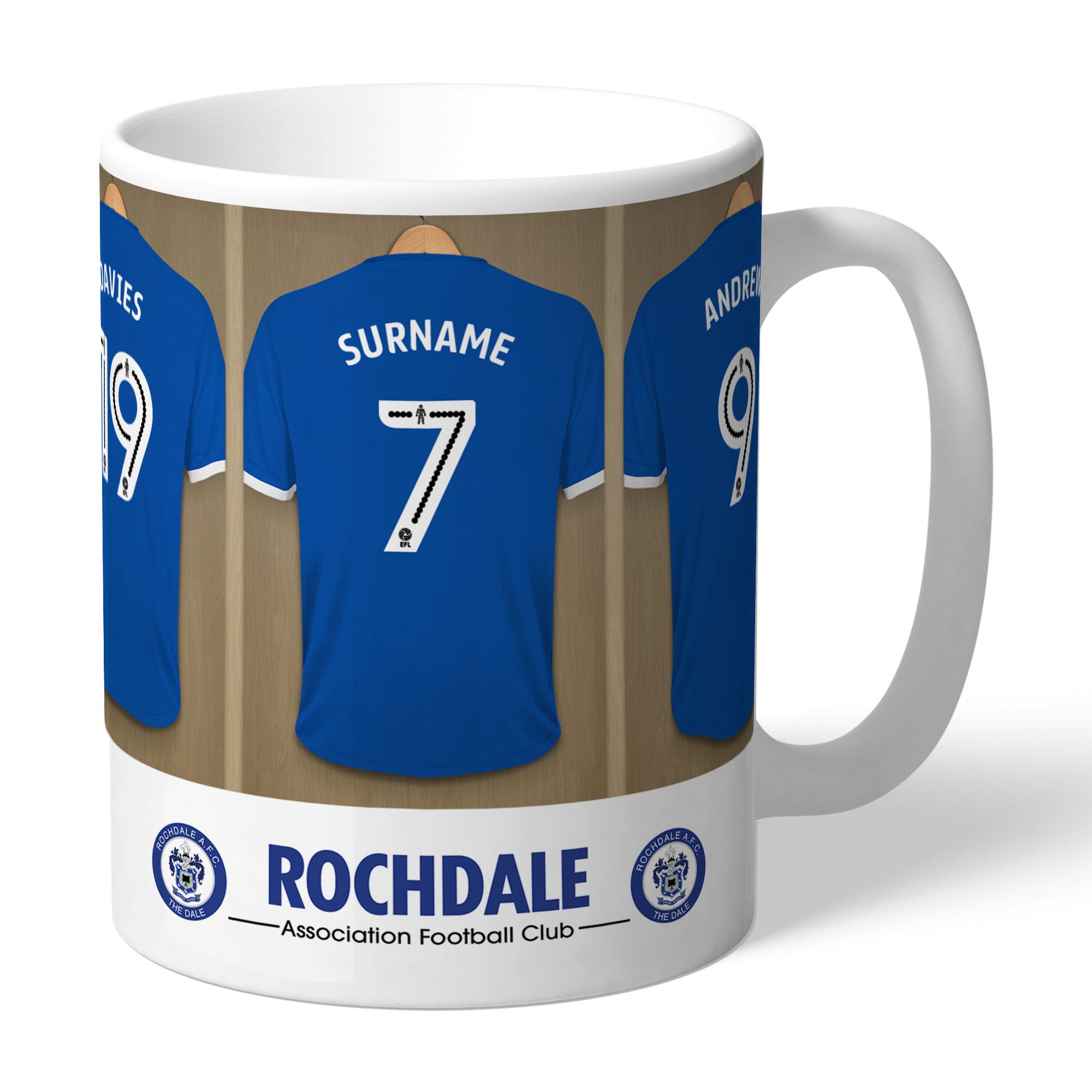 Rochdale AFC Dressing Room Mug