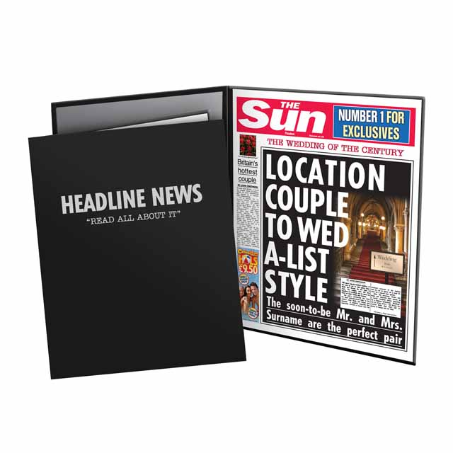 The Sun Wedding News Folder
