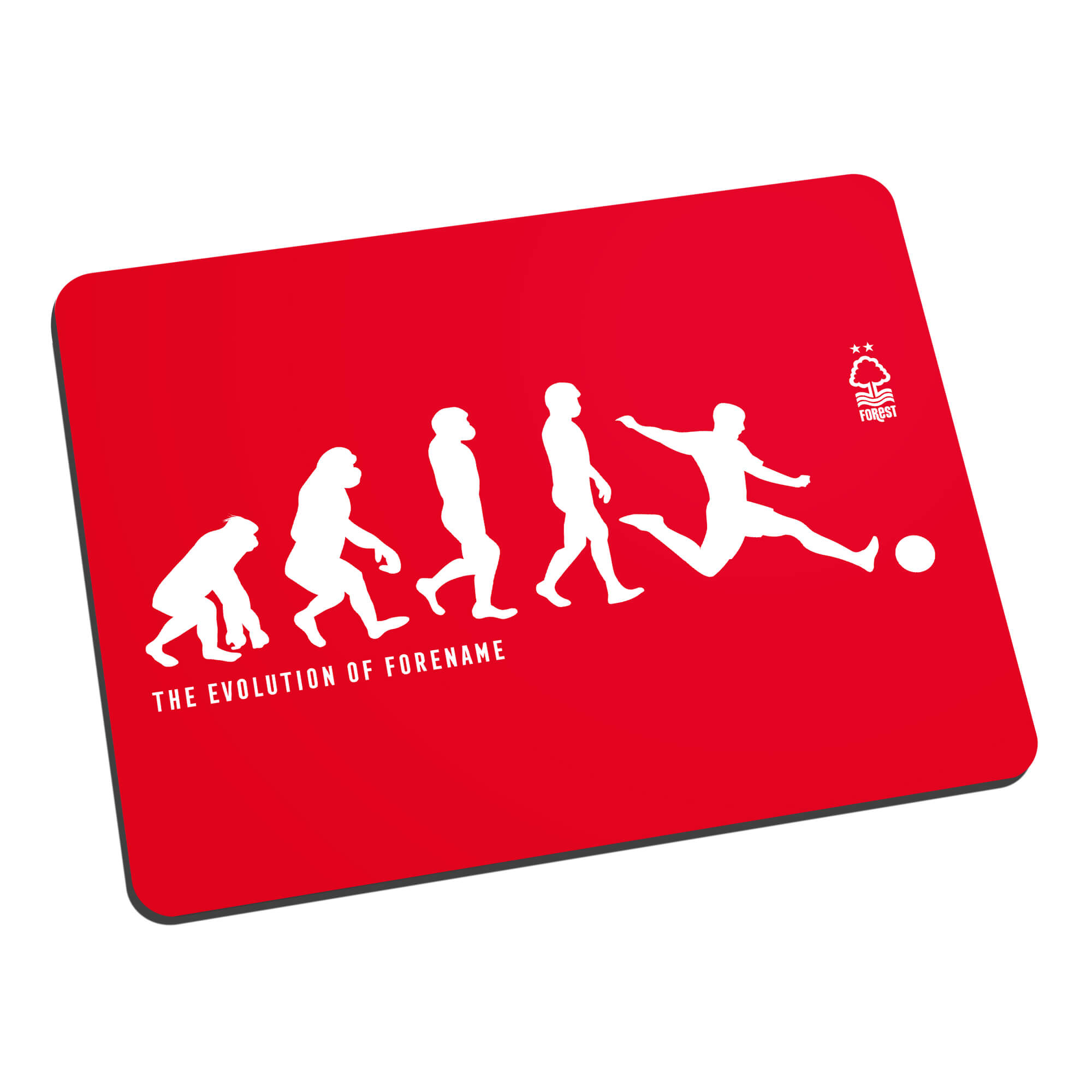 Nottingham Forest FC Evolution Mouse Mat