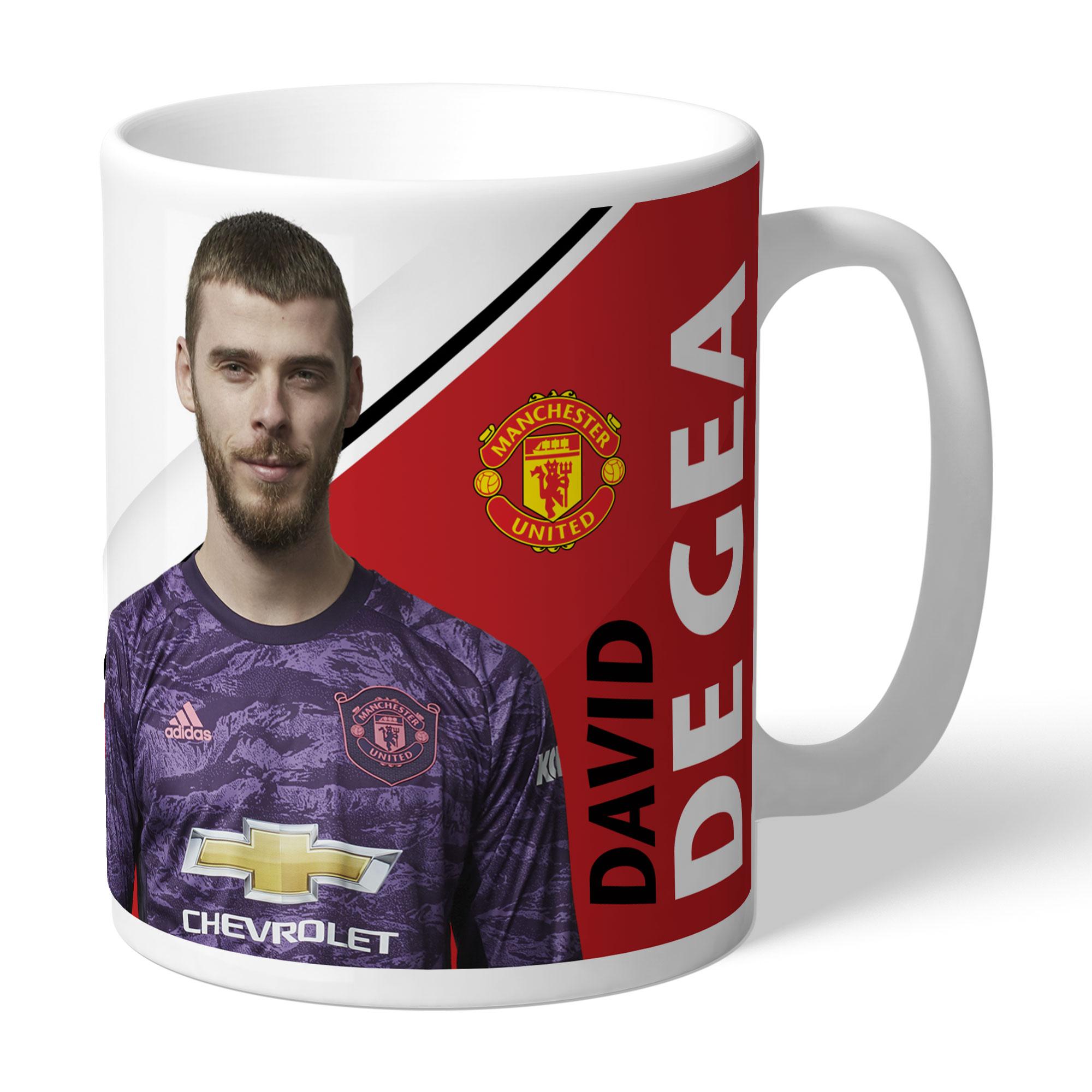 Manchester United FC De Gea Autograph Mug
