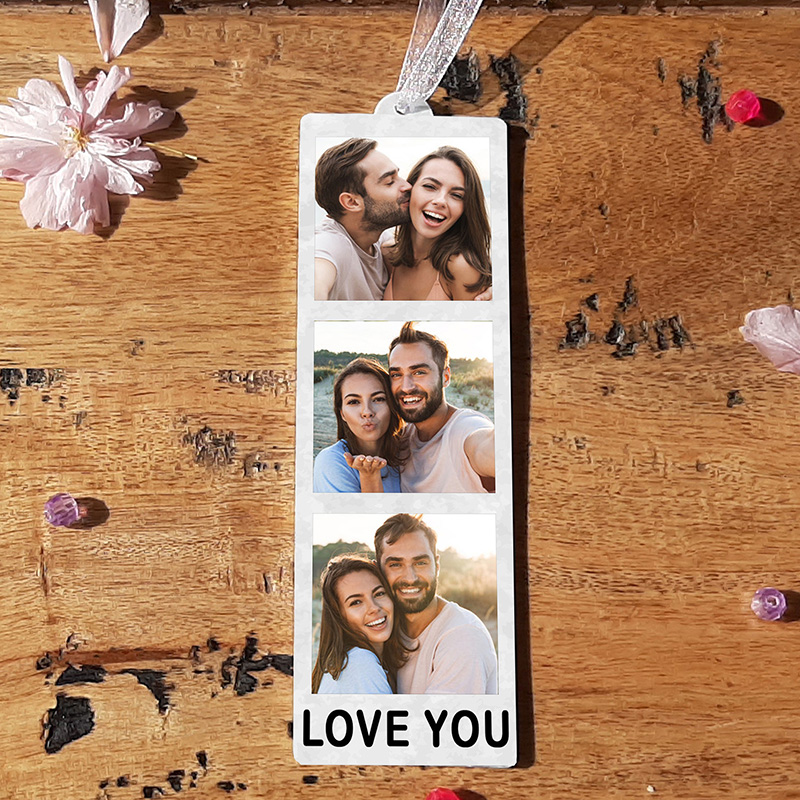 HANGING PHOTO TOKEN  - LOVE YOU