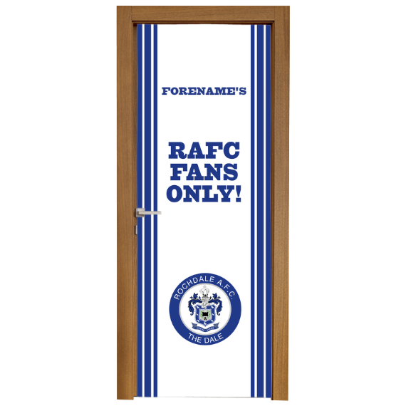 Rochdale AFC Stripe Door Banner