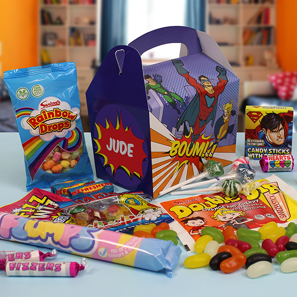 Super Hero Sweet Box