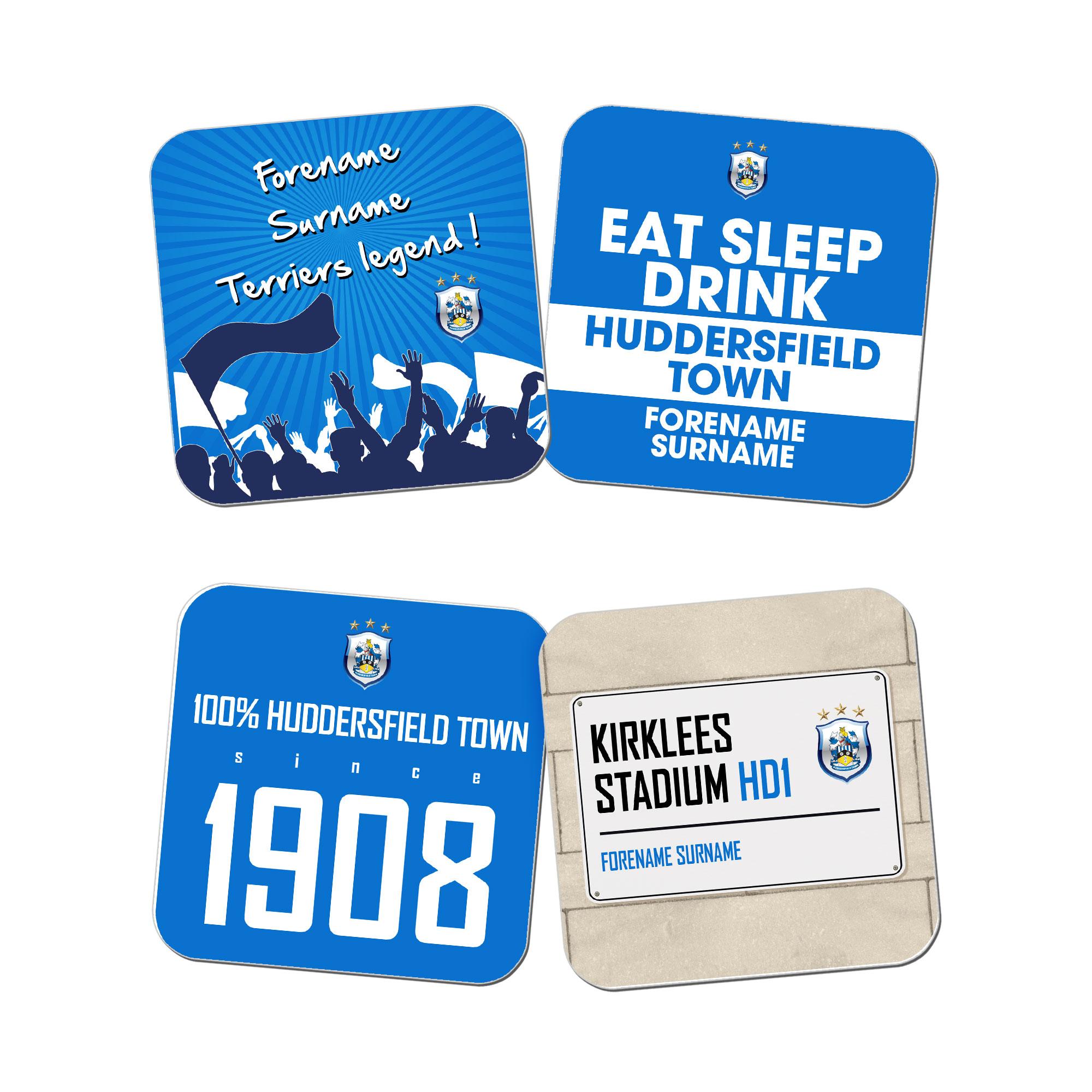 Huddersfield Town Coasters