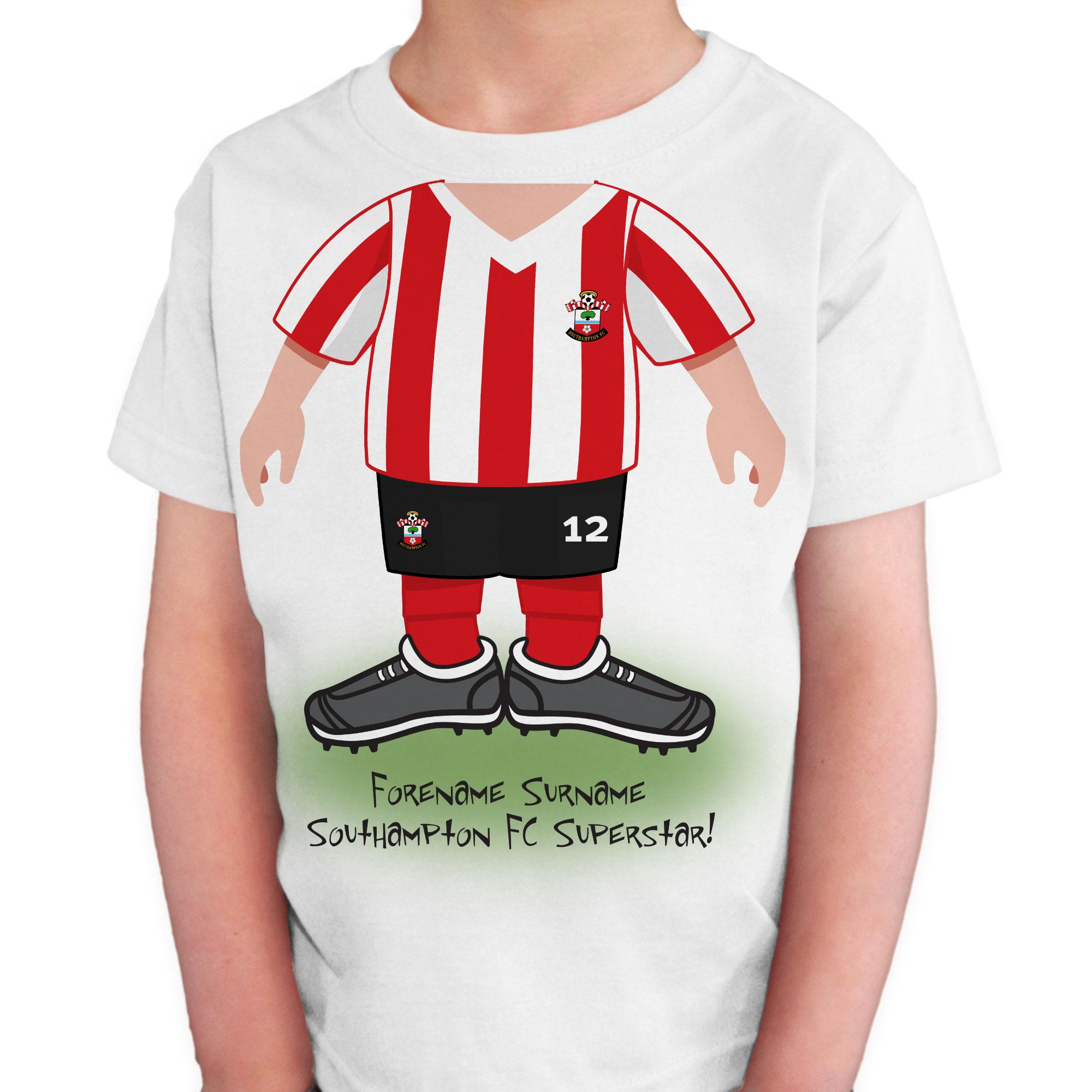 Southampton FC Kids Use Your Head T-Shirt