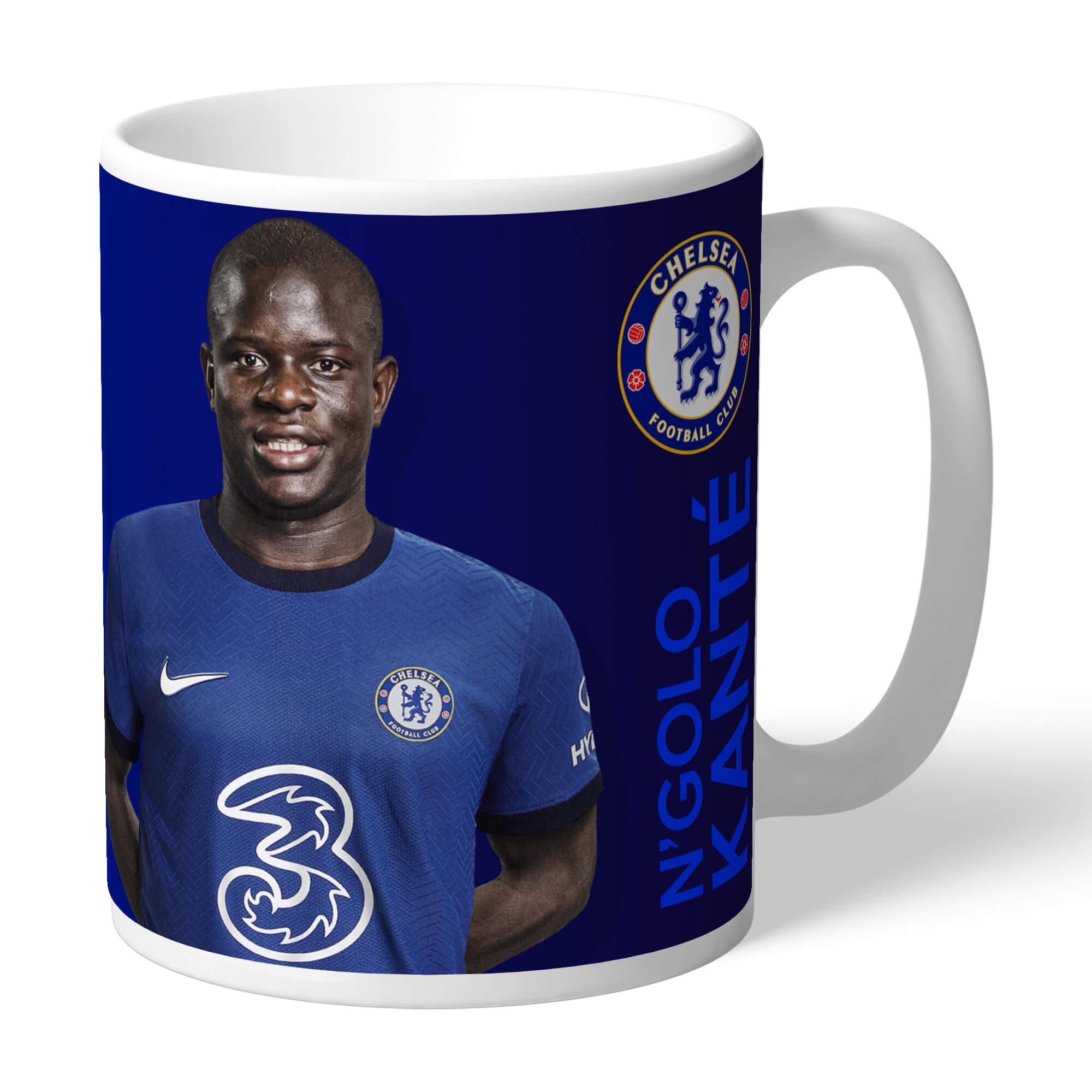 Chelsea FC Kante Autograph Mug