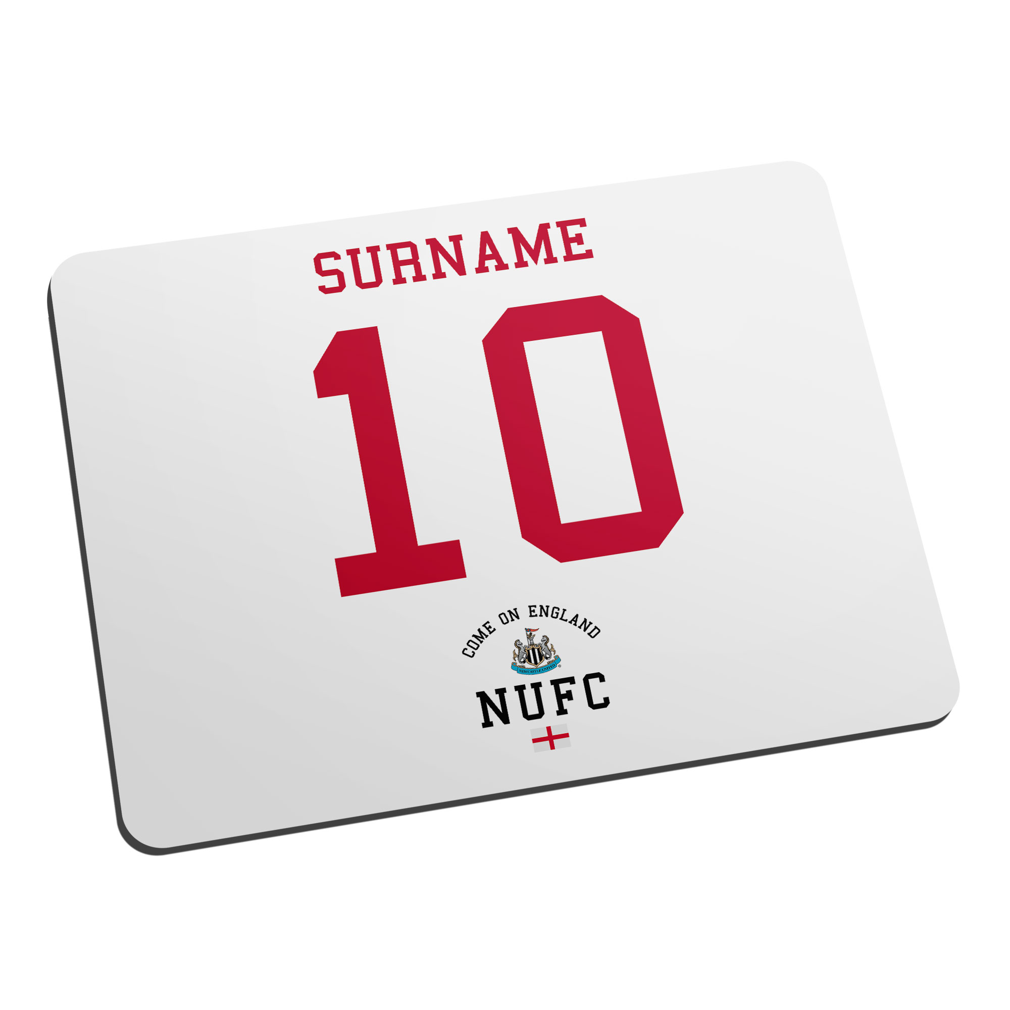 Newcastle United FC Come On England Mouse Mat