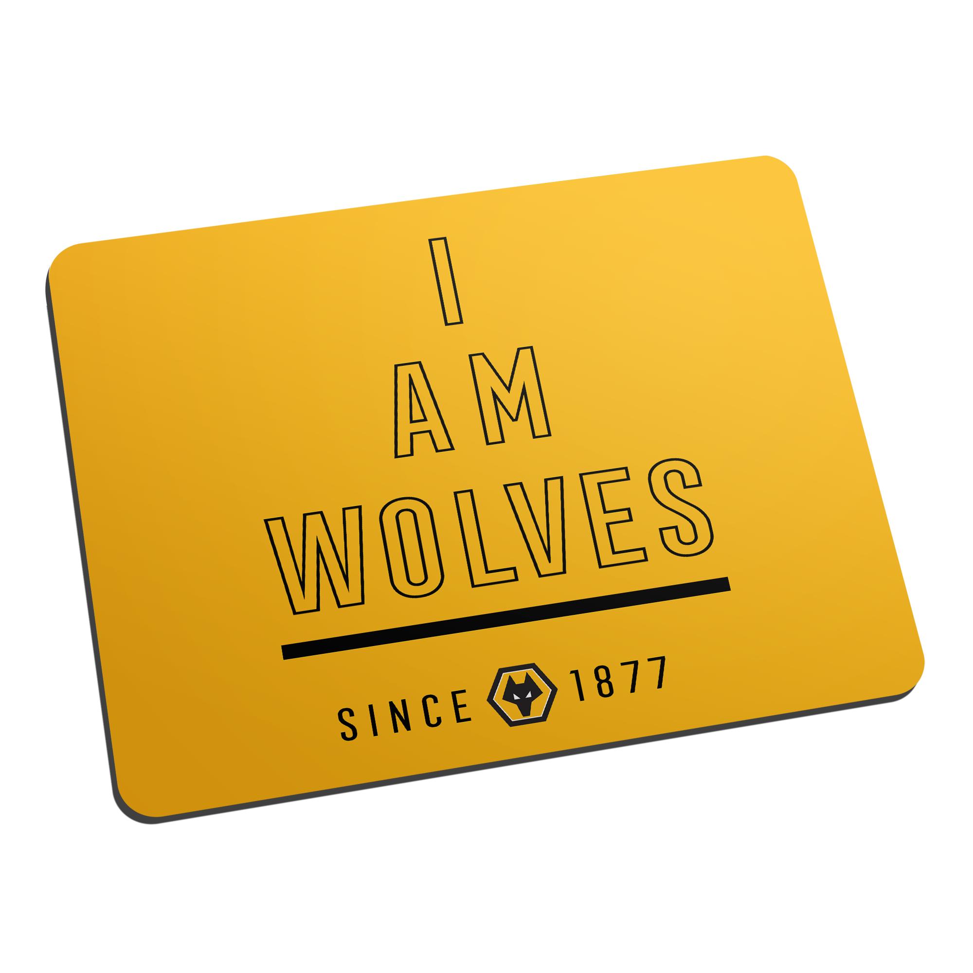 Wolverhampton Wanderers FC I Am Mouse Mat