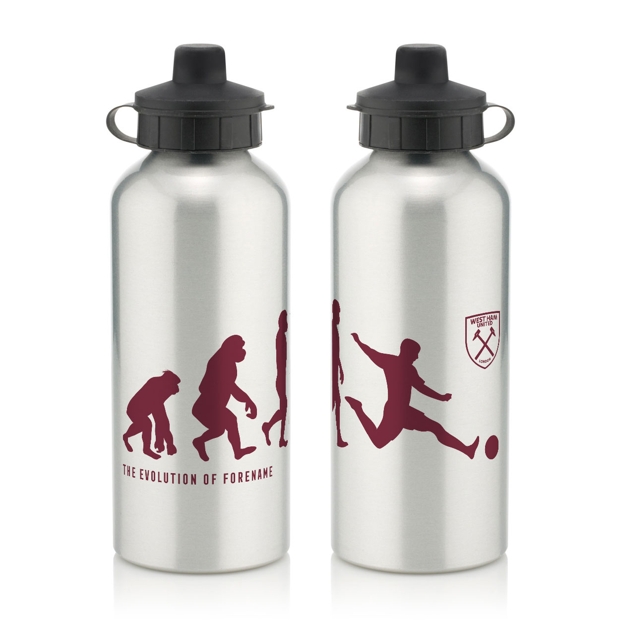 West Ham United FC Evolution Water Bottle