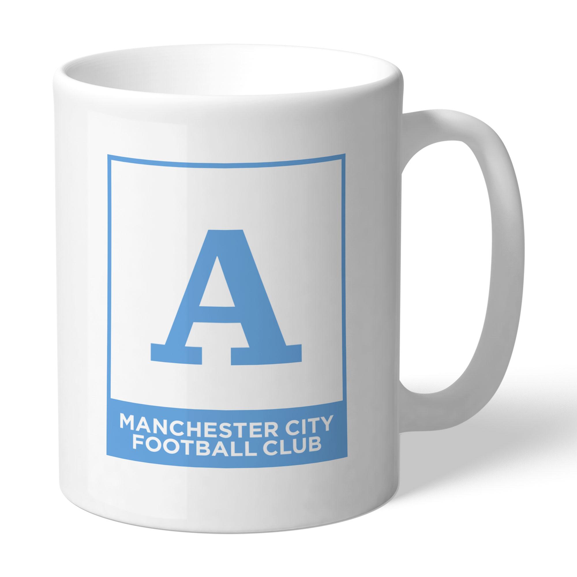 Manchester City FC Monogram Mug