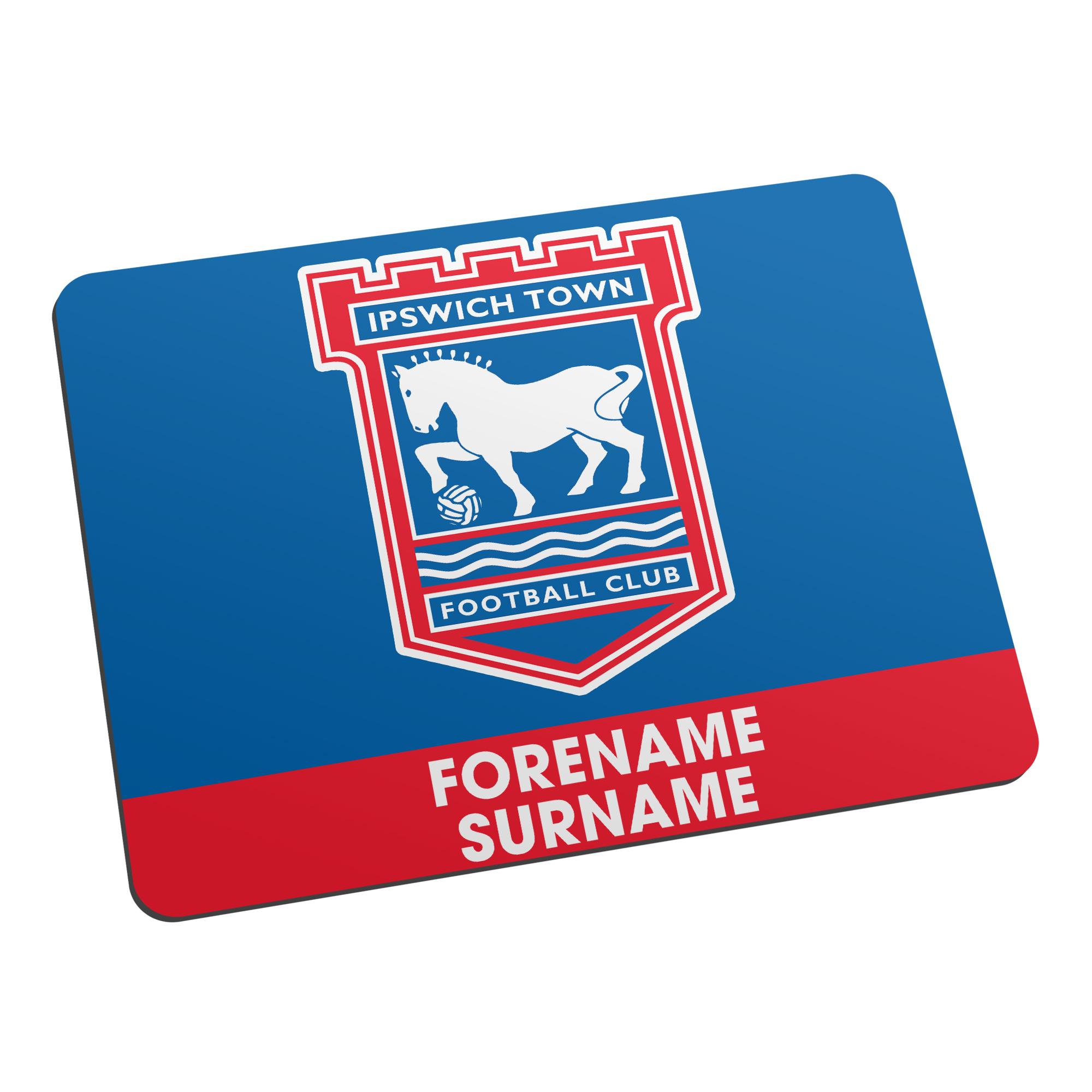 Ipswich Town FC Bold Crest Mouse Mat