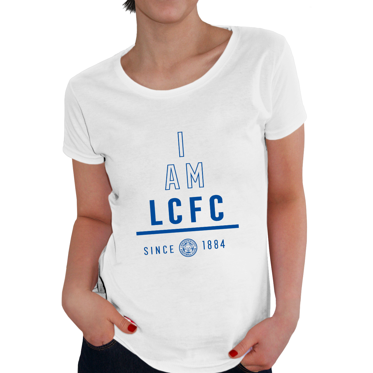 Leicester City FC I Am Ladies T-Shirt