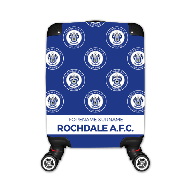 Rochdale AFC Mini Crest Kid's Suitcase