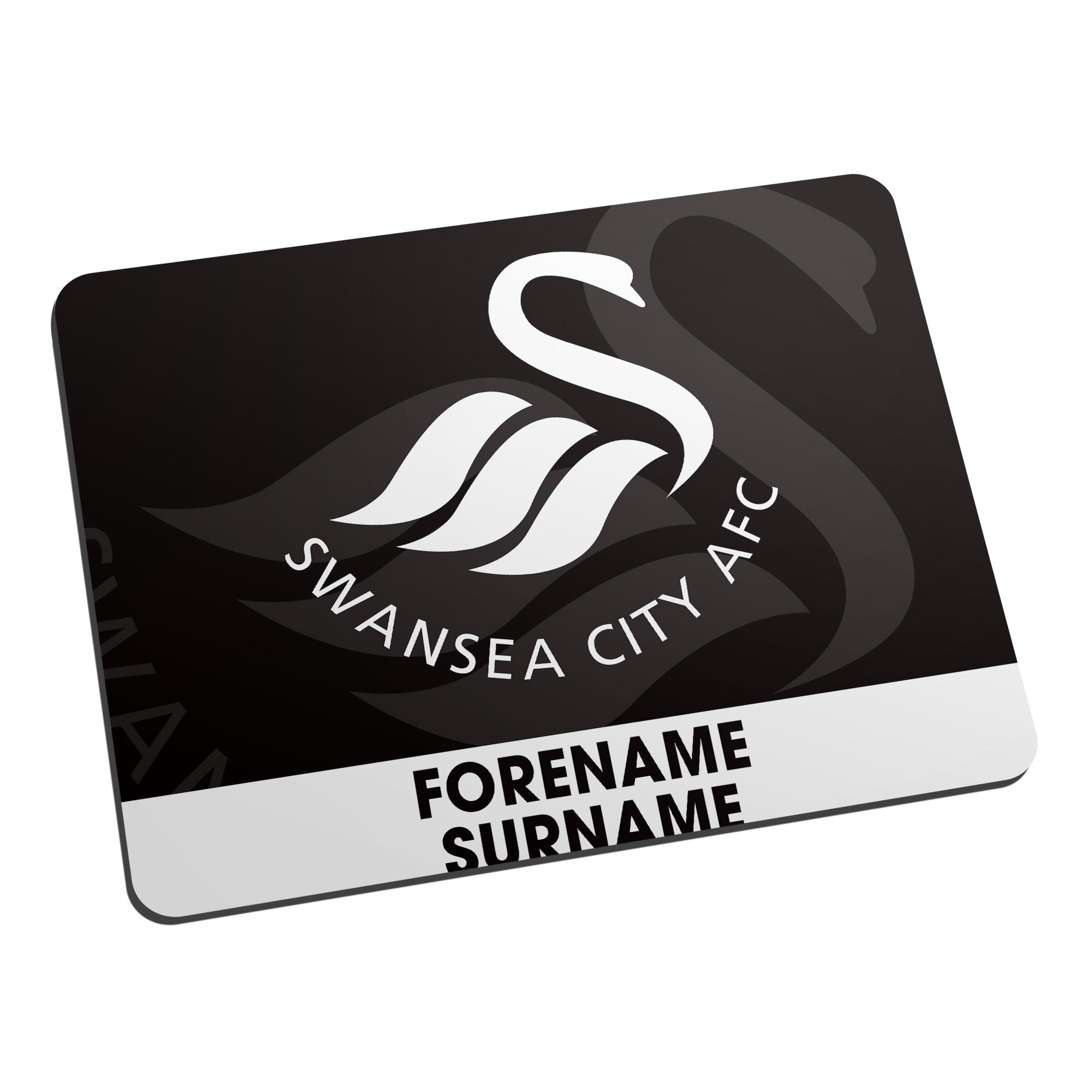 Swansea City AFC Bold Crest Mouse Mat