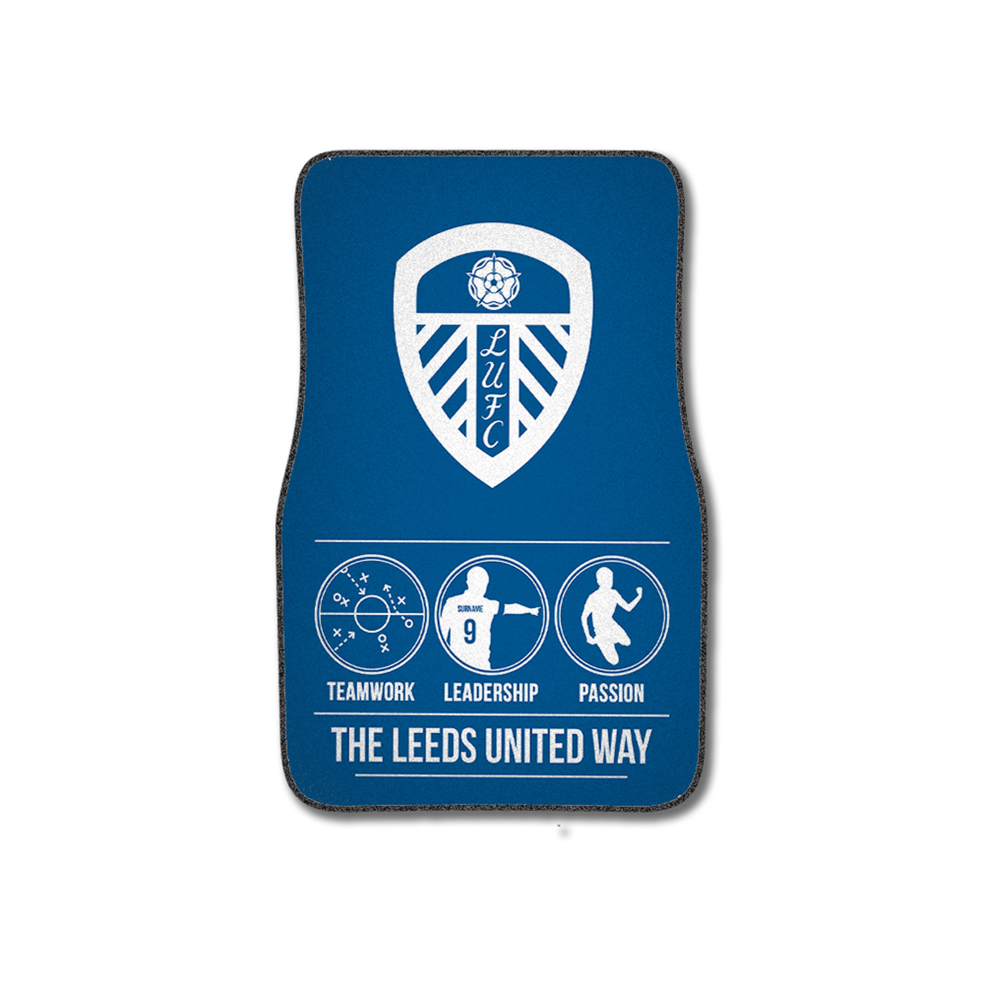 Leeds United FC Way Front Car Mat