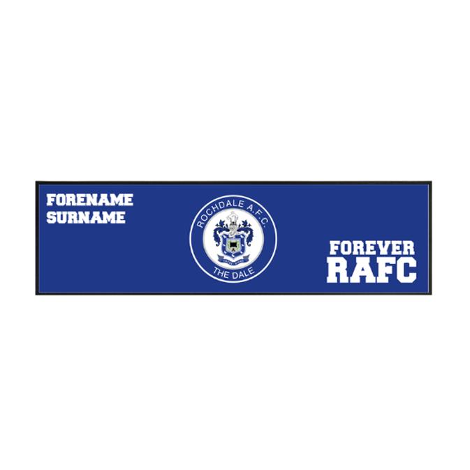 Rochdale AFC Forever Large Bar Runner