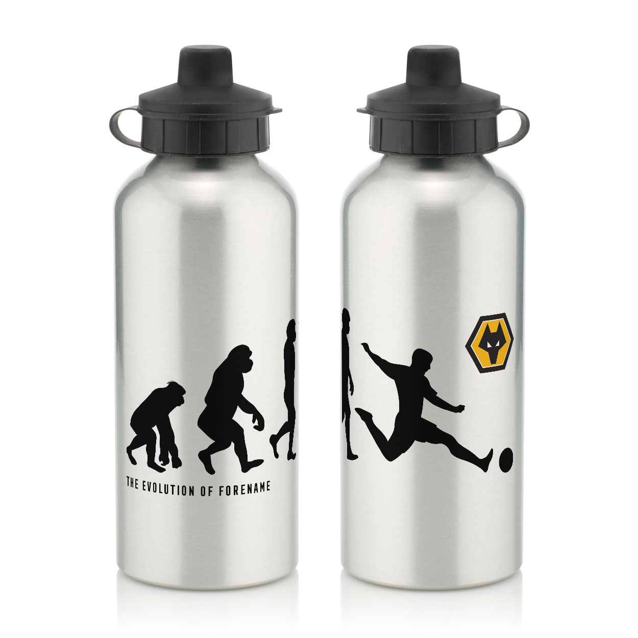 Wolverhampton Wanderers FC Evolution Water Bottle