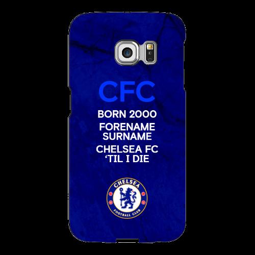 Chelsea FC 'Til I Die Samsung Galaxy S6 Edge Phone Case