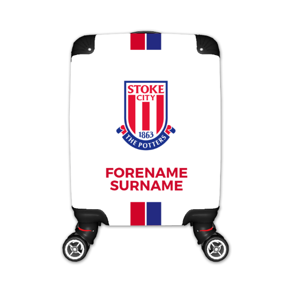 Stoke City FC Stripe Kid's Suitcase