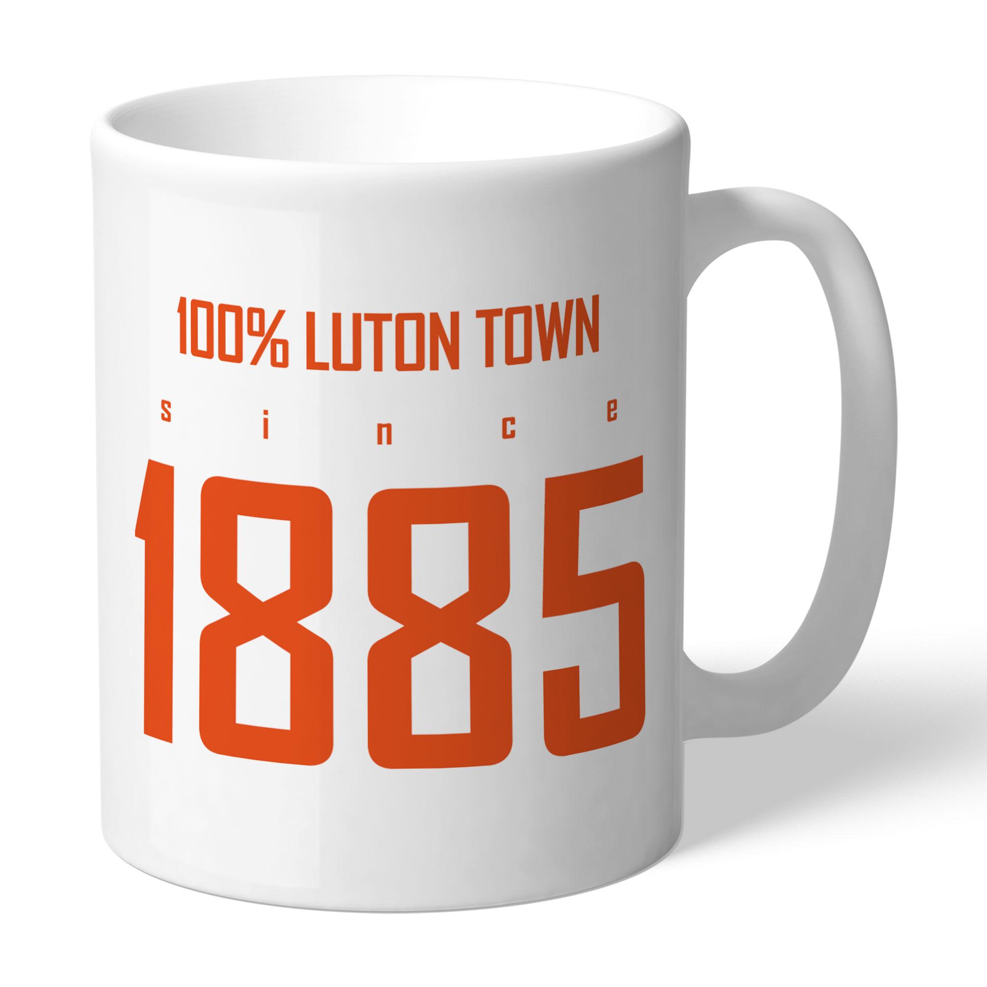 Luton Town FC 100 Percent Mug