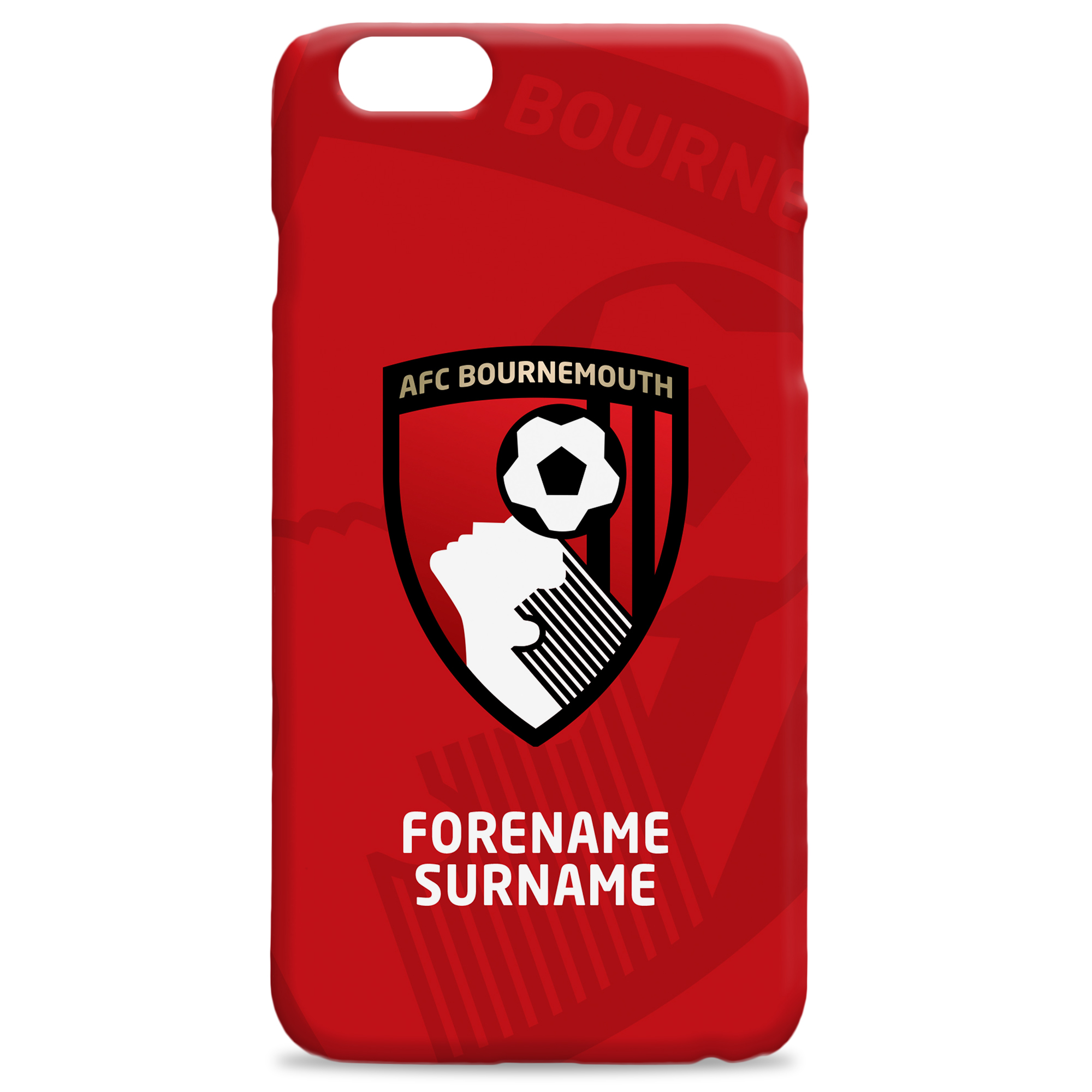 AFC Bournemouth Bold Crest Hard Back Phone Case
