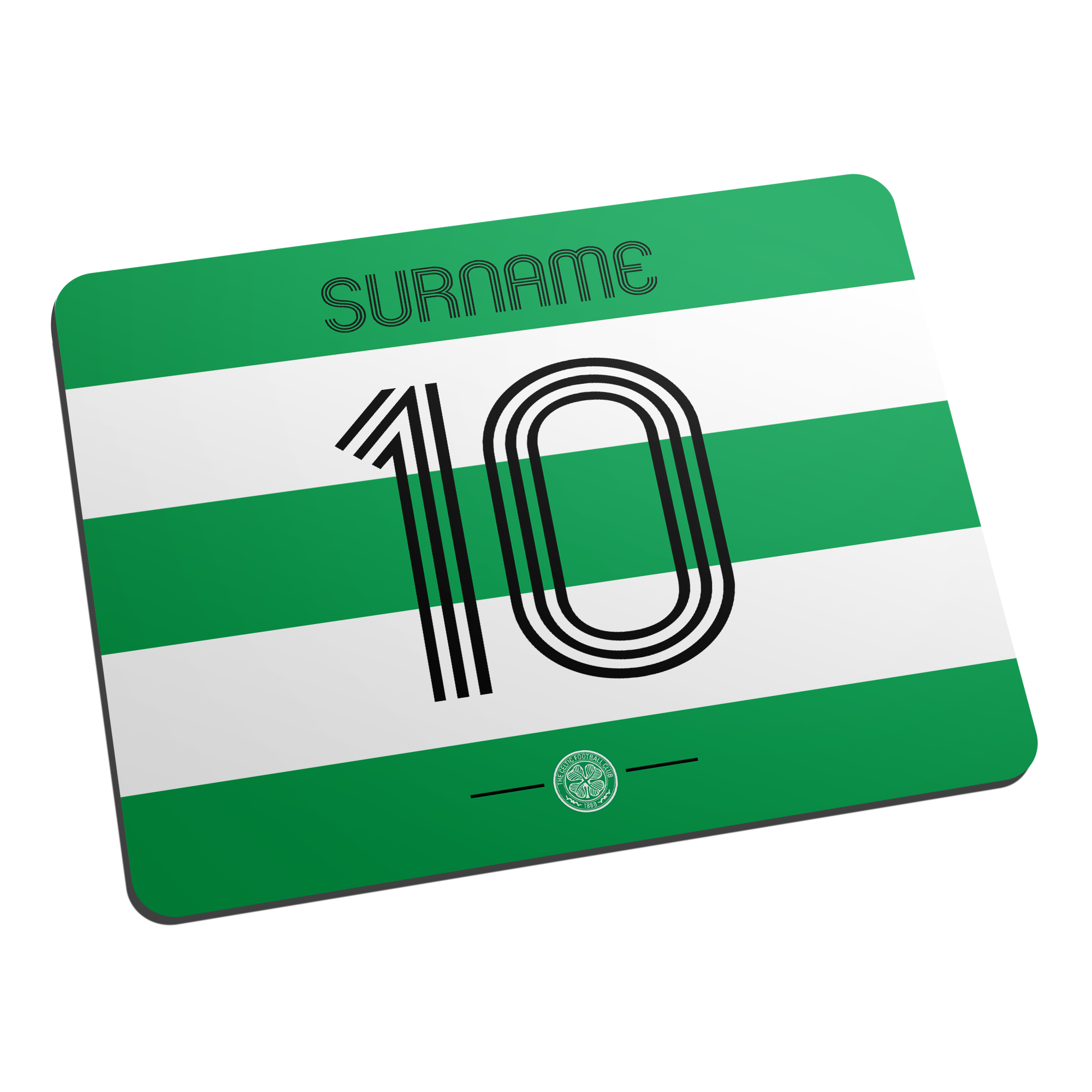 Celtic FC Retro Shirt Mouse Mat
