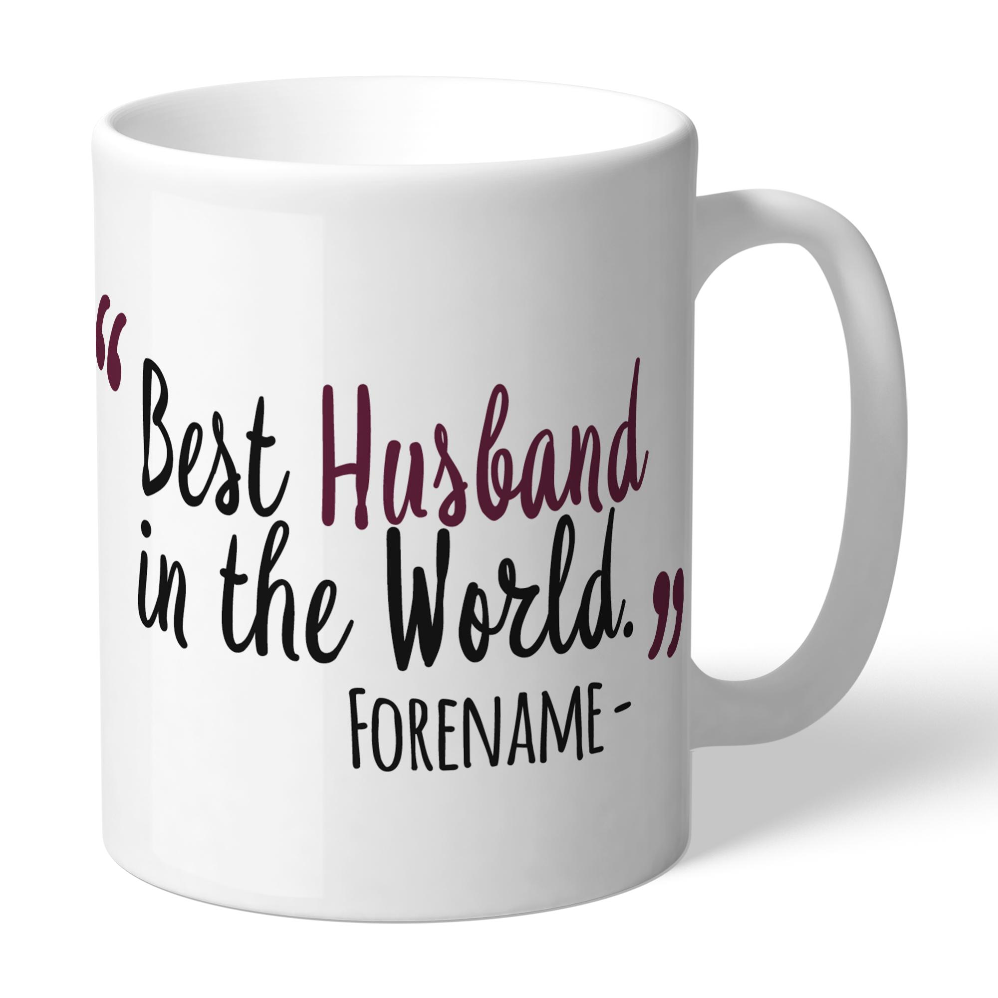 Burnley FC Best Husband In The World Mug