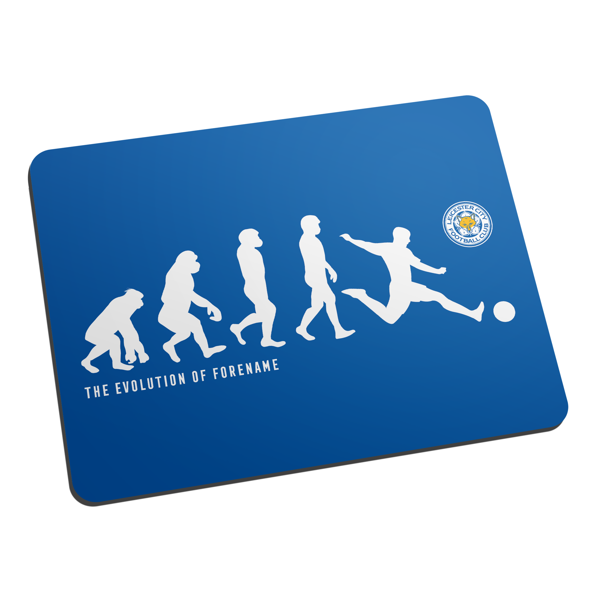 Leicester City FC Evolution Mouse Mat