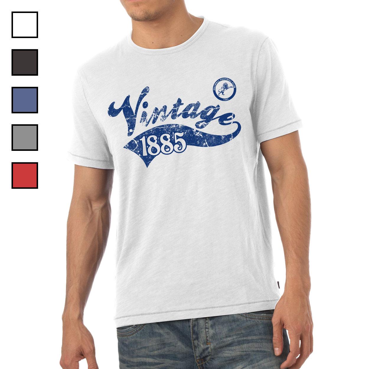 Millwall FC Mens Vintage T-Shirt