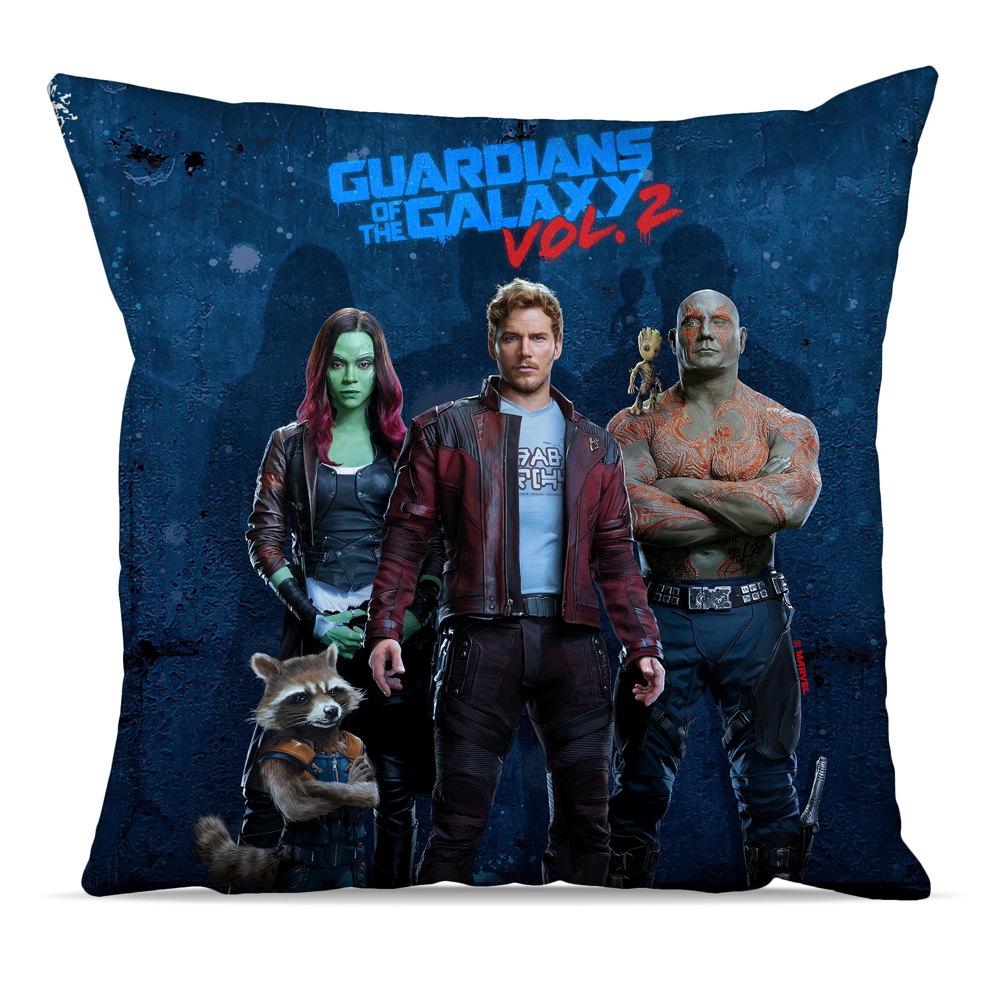 Marvel Guardians of the Galaxy Grunge Cushion