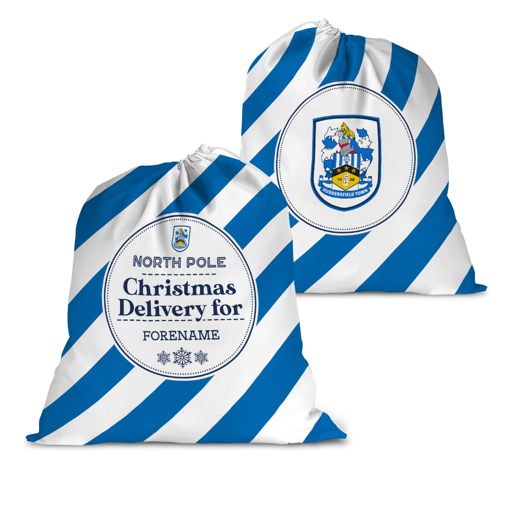 Huddersfield Town AFC Christmas Delivery Santa Sack