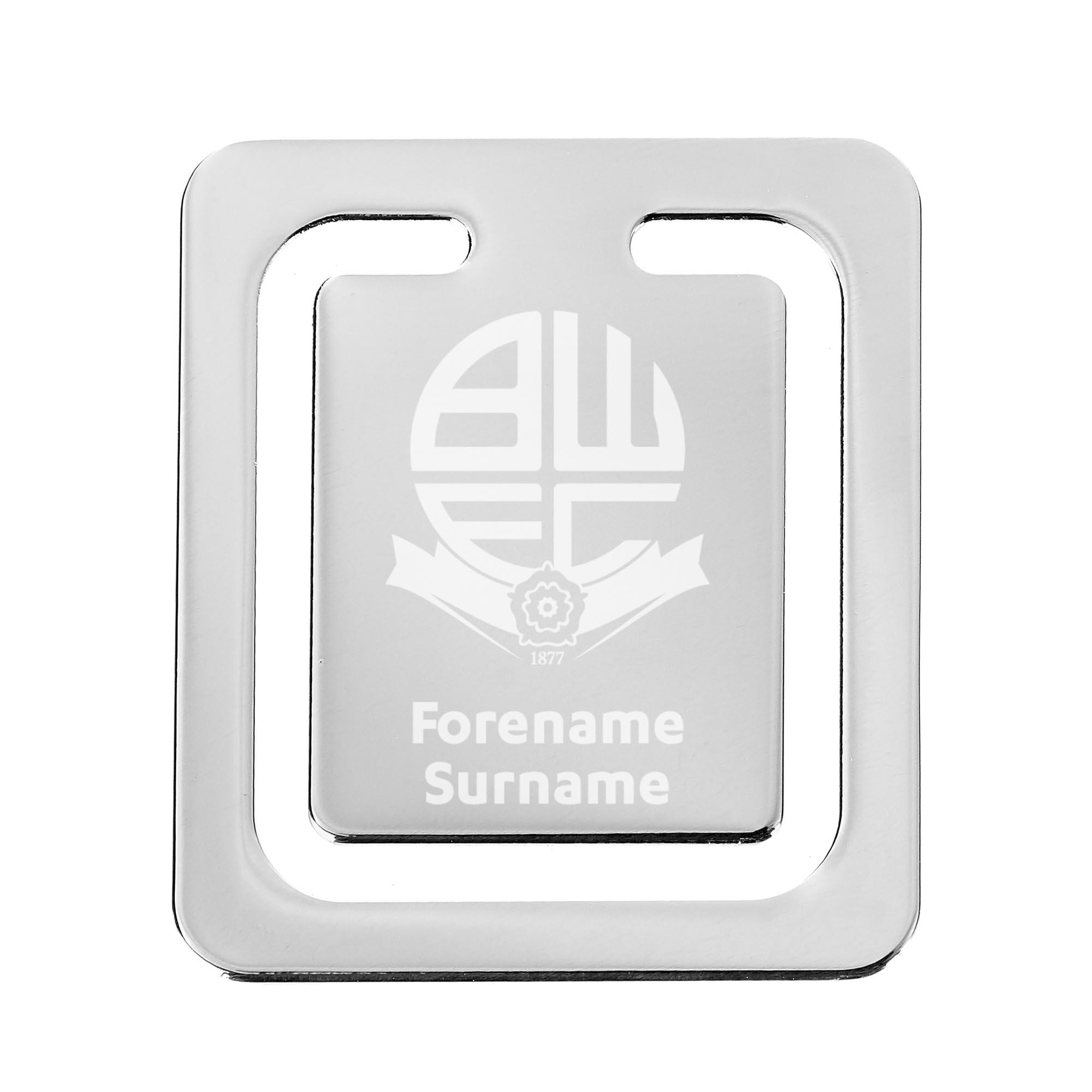 Bolton Wanderers FC Crest Bookmark